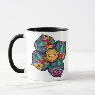 Patchwork Flower - 21 Mug