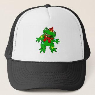 Patchwork Froggy Trucker Hat