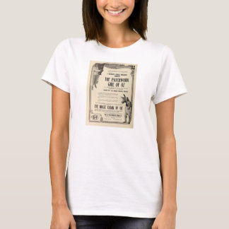 Patchwork Girl of Oz 1914 silent film exhibitor ad T-Shirt