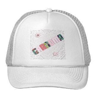 Patchwork 'Grandma' On Lace Mesh Hat