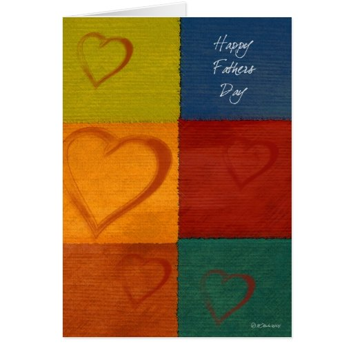 Patchwork Hearts-FD Card
