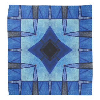 Patchwork in Blue Bandana