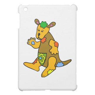 Patchwork Kangaroo iPad Mini Cases