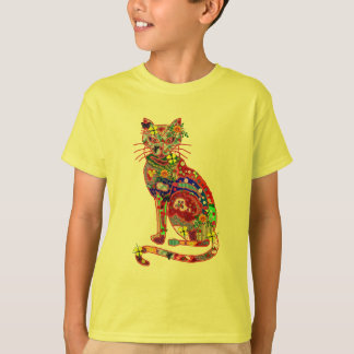 Patchwork Kitty T-Shirt
