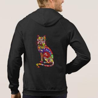 Patchwork Kitty Sweatshirt