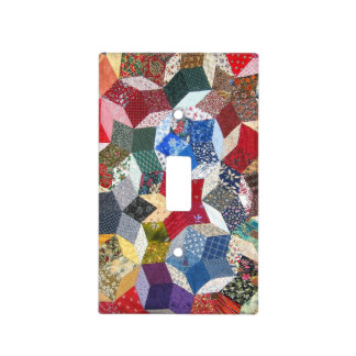 Patchwork Light Switch Cover