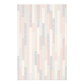 Patchwork Lines Stationery