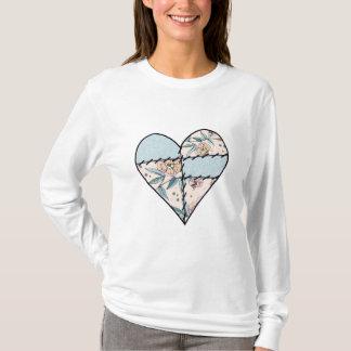 Patchwork LoveHeart T-Shirt
