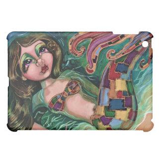 Patchwork Mermaid Hard Shell iPad Case