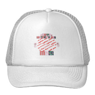 Patchwork 'Mom'  Mother's Day Photo Frame Trucker Hat