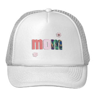 Patchwork 'MOM' on Blank (Add Any Color) Trucker Hat