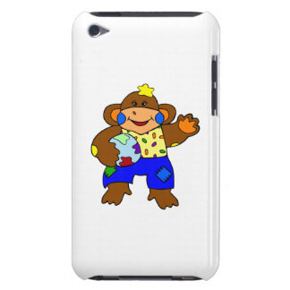 Patchwork Monkey Barely There iPod Covers