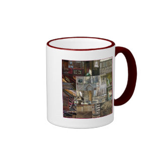 Patchwork of Architectural Detail  two-sided  Mug