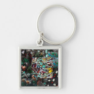 Patchwork of Beads Gift Range Keychain