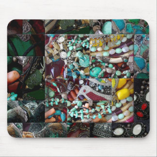 Patchwork of Beads Gift Range Mouse Pad