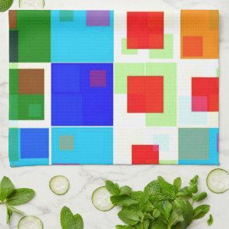 Patchwork Of Color Kitchen Towels