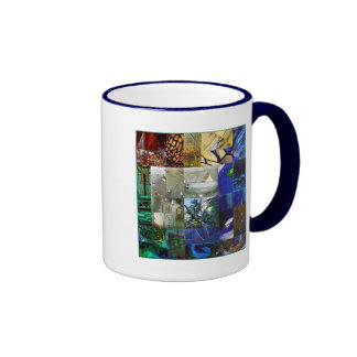Patchwork of Glass two-sided  Mug