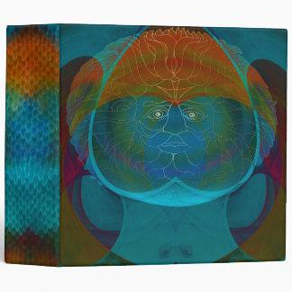 Patchwork Optical Illusion Binder