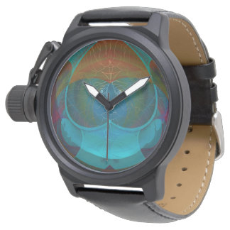Patchwork Optical Illusion Wristwatch