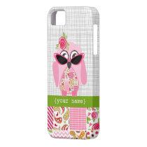 Patchwork Owl iPhone 5 Case