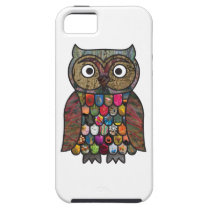 Patchwork Owl iPhone SE/5/5s Case