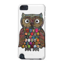 Patchwork Owl iPod Touch (5th Generation) Cover