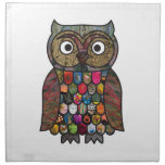 Patchwork Owl Napkins