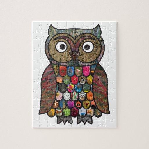 Patchwork Owl Puzzles