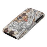 Patchwork Owls 2 Case-Mate iPhone 3 Case