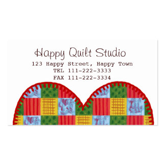Patchwork Painting Quilt Business Cards