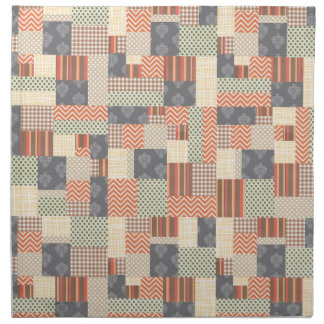 Patchwork Parquet Cloth Napkin