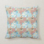 Patchwork Pattern Cushion Pillow
