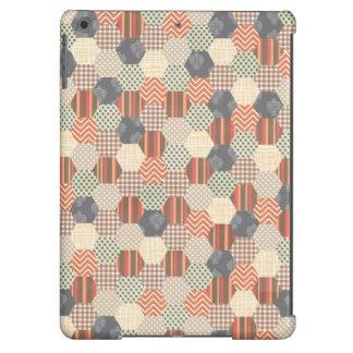 Patchwork Pentagon Pattern iPad Air Case
