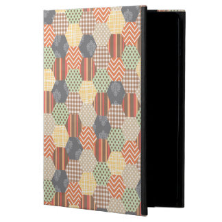Patchwork Pentagon Pattern Case For iPad Air