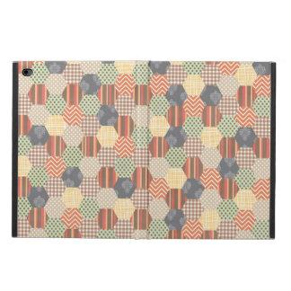 Patchwork Pentagon Pattern Powis iPad Air 2 Case