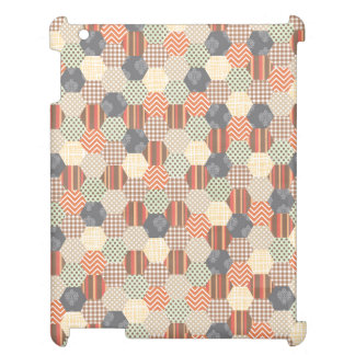 Patchwork Pentagon Pattern Cover For The iPad 2 3 4