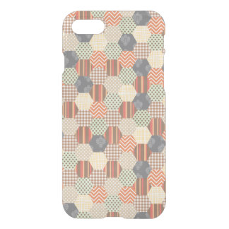 Patchwork Pentagon Pattern iPhone 7 Case