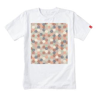 Patchwork Pentagon Pattern Zazzle HEART T-Shirt