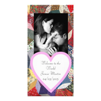 Patchwork Photo Card