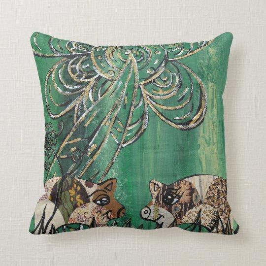 Patchwork Pigs Pillow