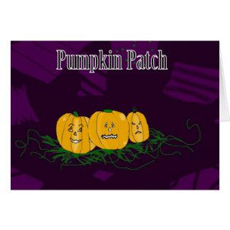 Patchwork Pumpkin Patch Card