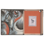 Patchwork Puppy in Blue iPad Cases