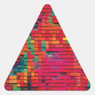 Patchwork Quilt #1 Triangle Sticker