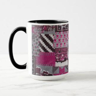 Patchwork Quilt Ceramic Mug