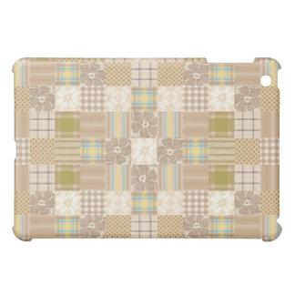 Patchwork Quilt iPad Mini Covers