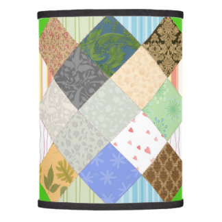 Patchwork Quilt Lamp Shade