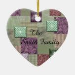 Patchwork Quilt Ornament