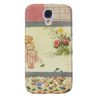 Patchwork Quilt Phone Case in Pink Samsung Galaxy S4 Case
