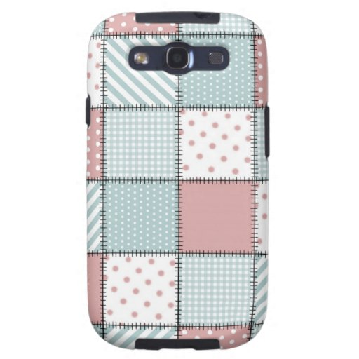 Patchwork Quilt Samsung Galaxy SIII Covers