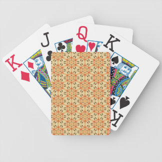 Patchwork Quilt Syle Bicycle Playing Cards